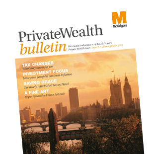Private Wealth bulletin magazine